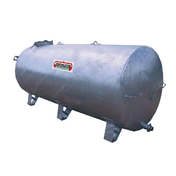 Galvanised tank on legs, 1250L
