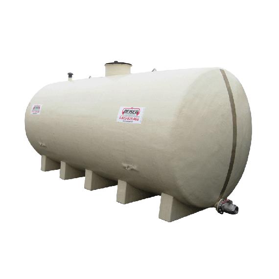 Horizontal polyester tank 20000L