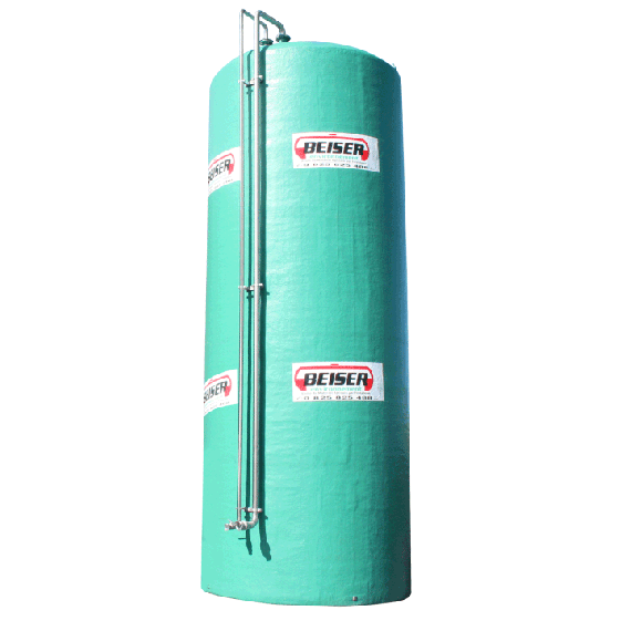 Double wall polyester tank, 50000L