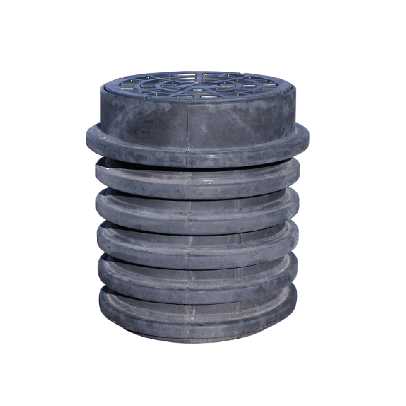 Riser and cover for 1200L - 1700L tank (EP)