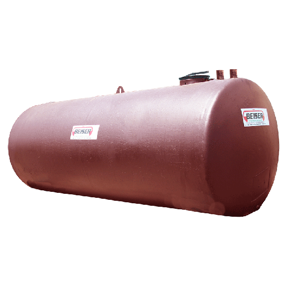 Buried double wall rainwater collection station, 5 000L with pump