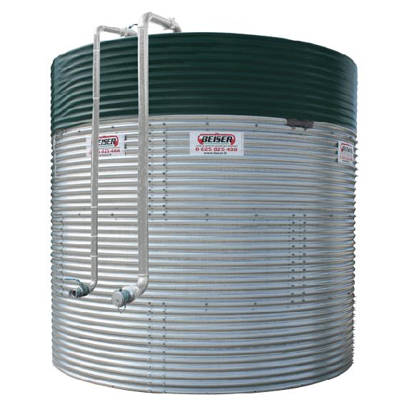 Liquid fertiliser tank, 30000 L, in kit