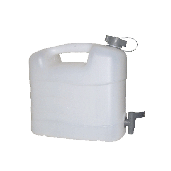 Food quality polyethylene jerrycan for water, 20L