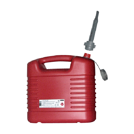 Polyethylene jerrycan for fuel, 20L