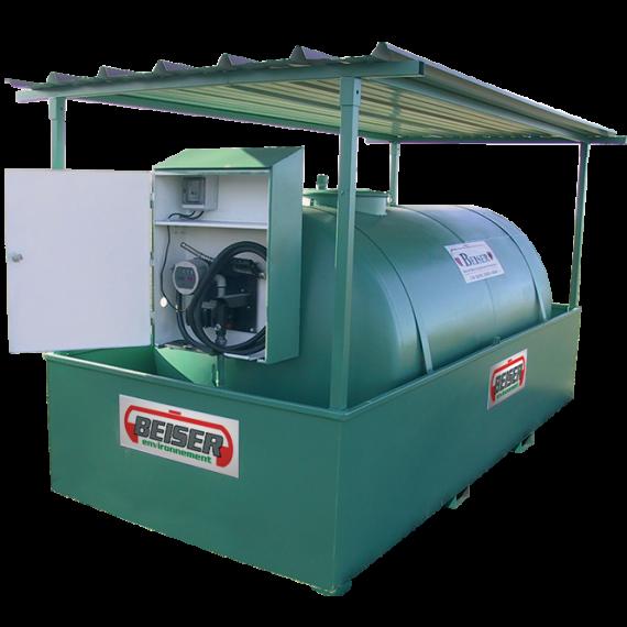 Station citerne fuel industrielle NN 6000 litres
