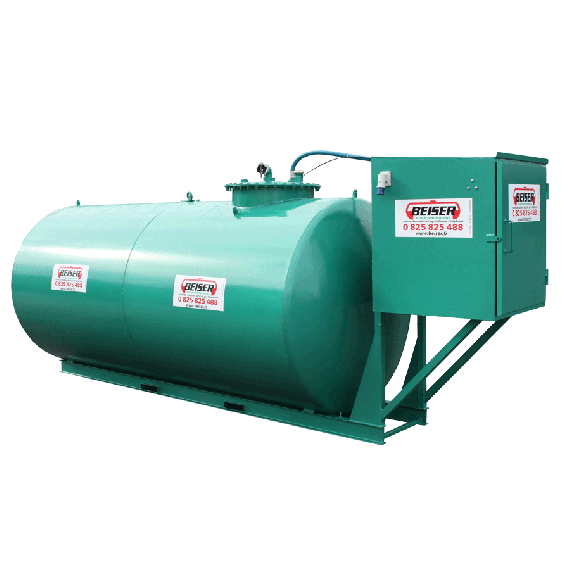 Economical steel fuel station 20000 L, double wall, new norm 2nd generation
