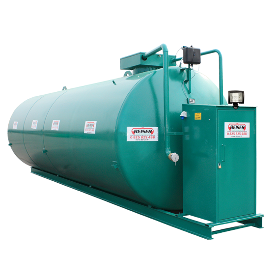 Steel fuel station 40000 L, double wall, new norm 2nd generation