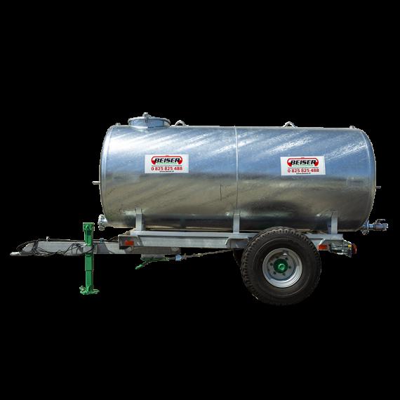 Galvanised tank on galvanised frame, 4000L