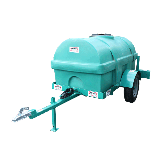 Reinforced HDPE tank on frame, 1200L, EP