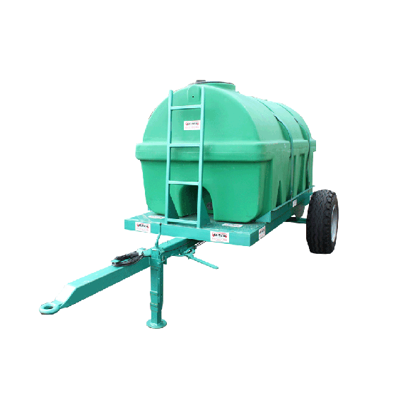 Reinforced HDPE tank on frame, 2750L, EP