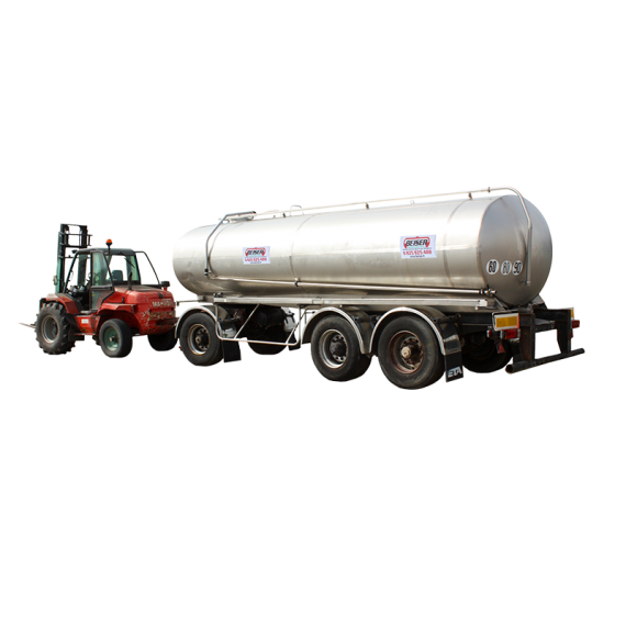 Citerne inox 16500 litres sur chassis origine 3 essieux - Occasion 5