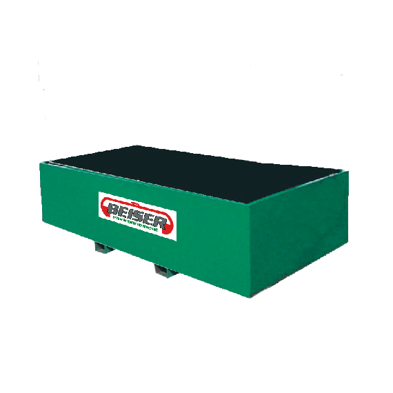 Metal retention tray, 2000L
