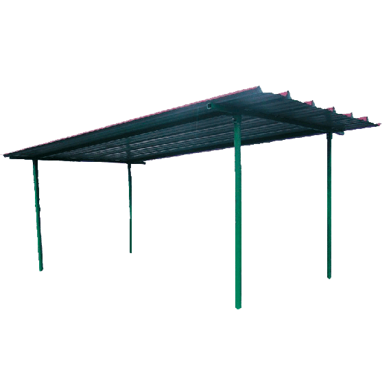Roof for INDUSTRIAL fuel station (6000L)