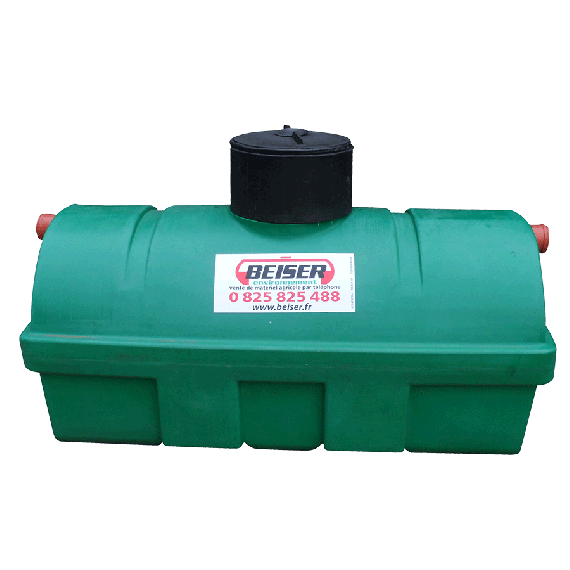 Septic tank for all types of waters, 2750L