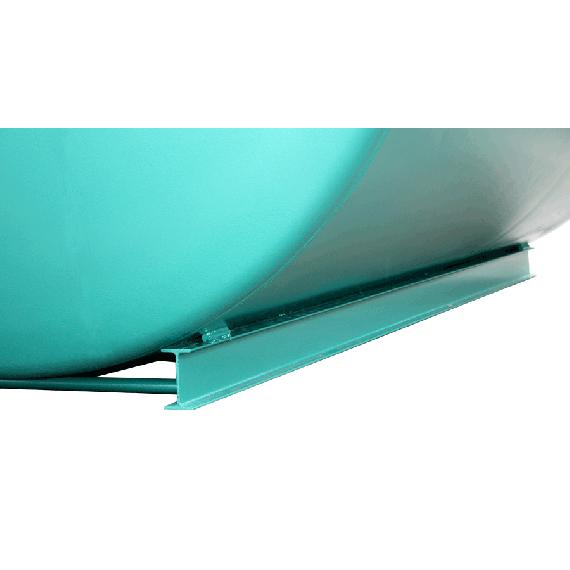 Mechanically welded frame for 60000 L tanks, Ø 3000 mm