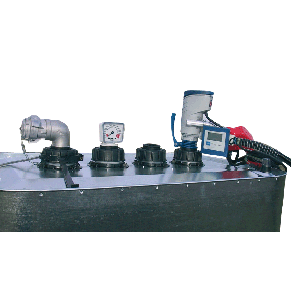 VET 700 and 1000L tank drainage kit with 12V pump