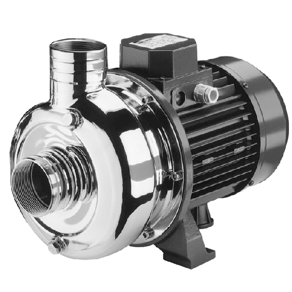 Stainless steel 400L/min single-phase 220V centrifugal pump with flexible