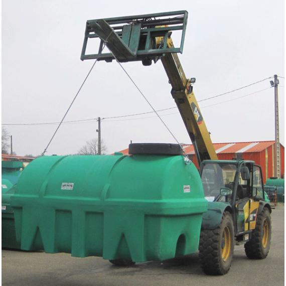Lift kit for green HDPE tank
