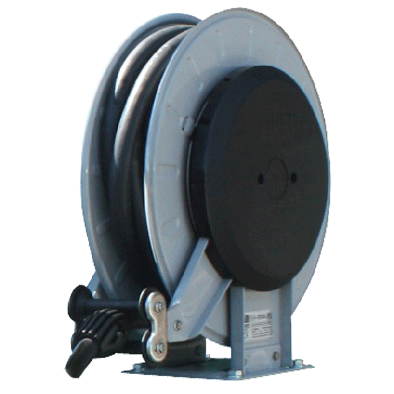 """Winding reel B-BLUE with 8 m of 3/4"""" pipe"""