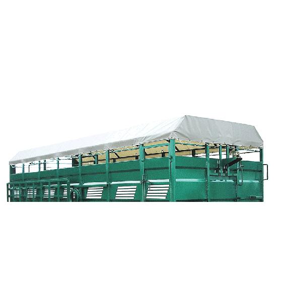 Tarpaulin for cattle truck, 7.50 m
