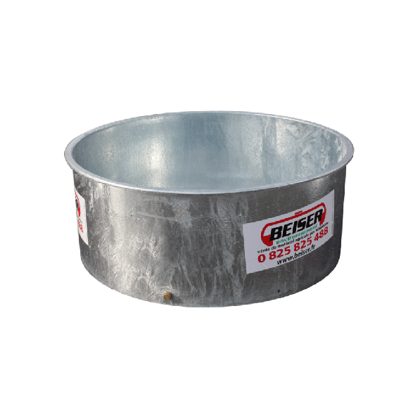 Pasture tray (galvanized) 600 L