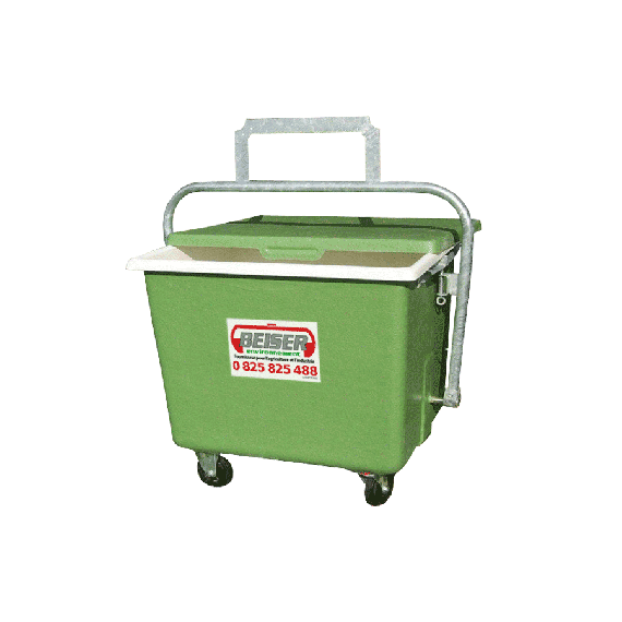 Quartering tray in polyester 900 L