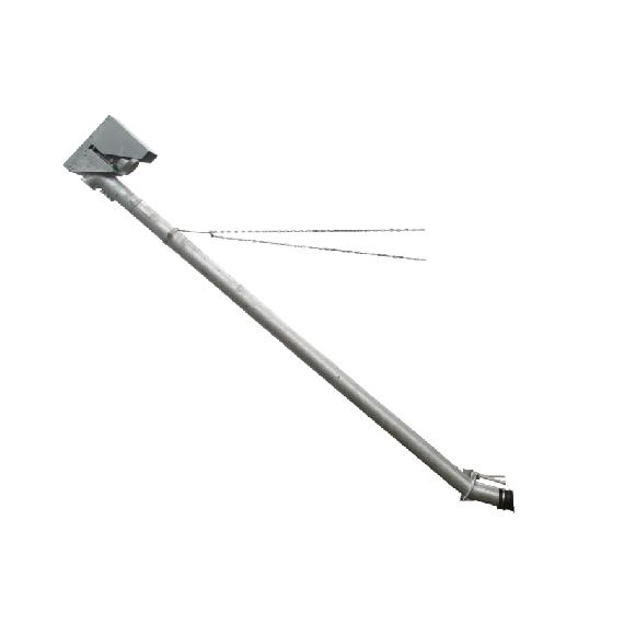 Inclined grain auger, 5 m, Ø 150