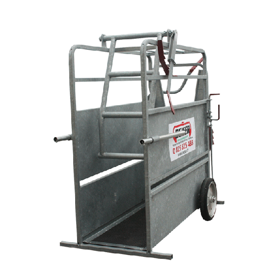 Horn stop crate - galvanised