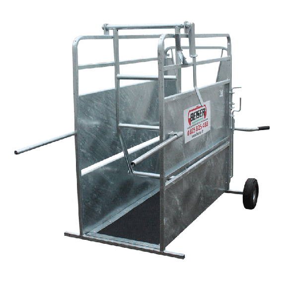 Horn stop crate - galvanised - large model