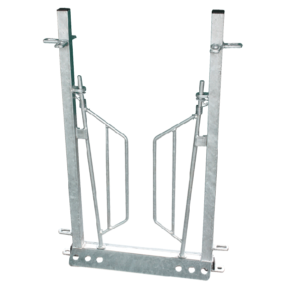 Back stop gate for sheep chute