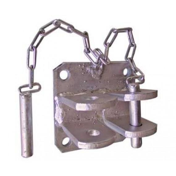 Double bracket fastening