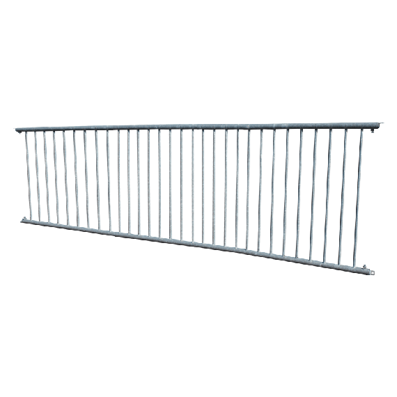 Calf barrier - 3.80m