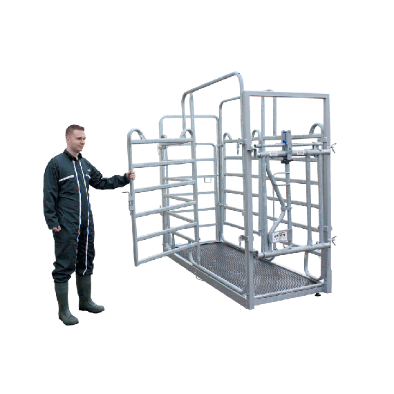 Weighing and treatment platform - not for legal metrology