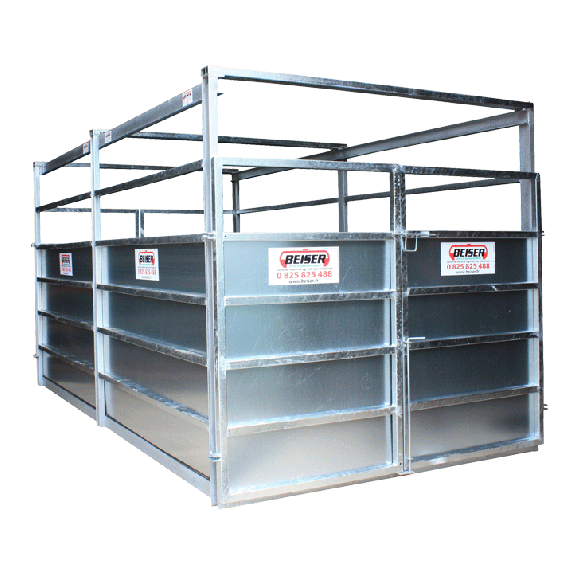 Grouped weighing crate (Not for legal metrology)