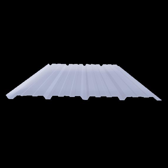 Ribbed sheet 25-267-1070, transparent polycarbonate siding, 3 m