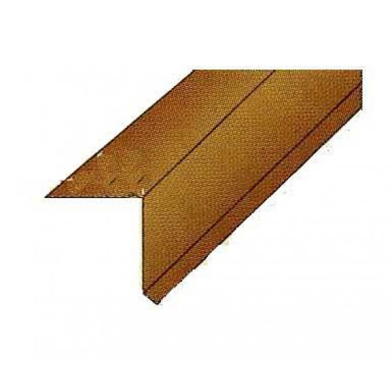 Gutter guard red brown RAL8012