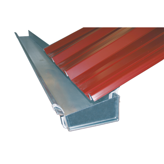 Connections for galvanised gutter, 170