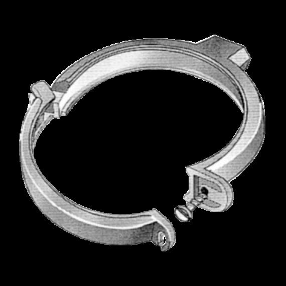 BARE downpipe bracket, Ø 100 mm