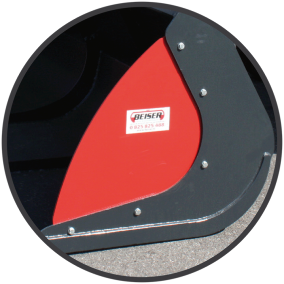 Side plates for pelican bucket (by pair)