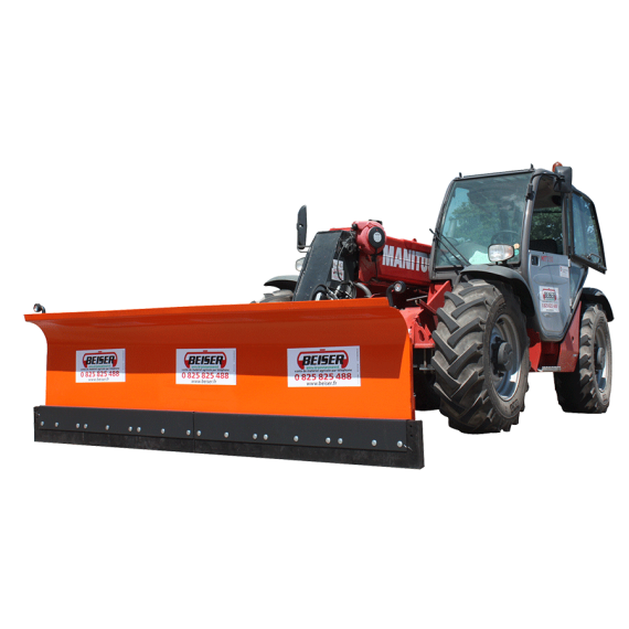 Snow blade 3.00 m for loader and telescopic