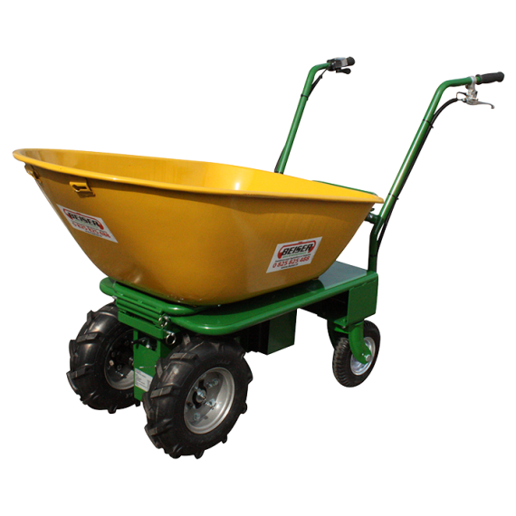 Wheelbarrow with electric motor (comfort model)