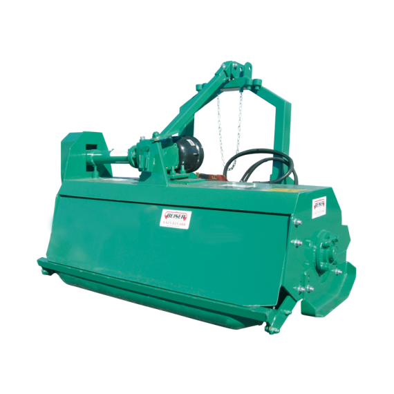 Rear crusher with lateral movement, width 1.50m