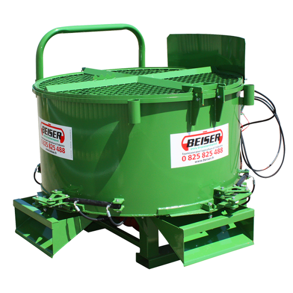 175 gal. mixer with hydraulic box and 3 hydraulic drain hatches