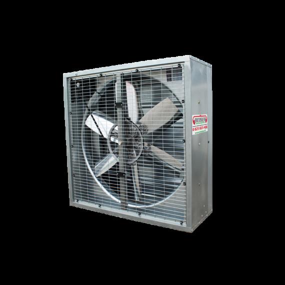 High volume fan - 122 cm x 122 cm x 40 cm