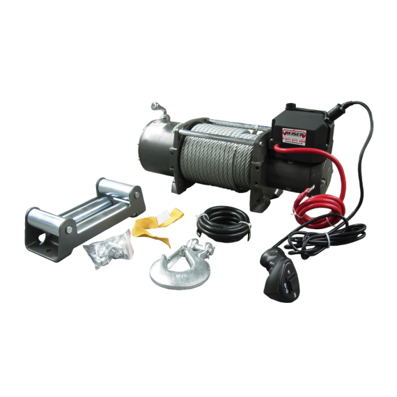Electric winch, 12V LD 17000 (7.7 tons)