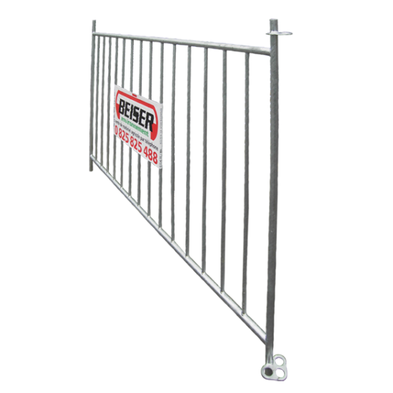 Sheep fence with 14 vertical bars