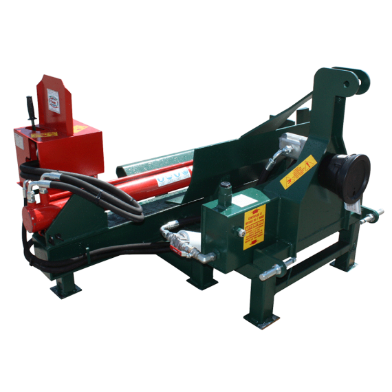 3-point horizontal log splitter 18 T driven by gimbal