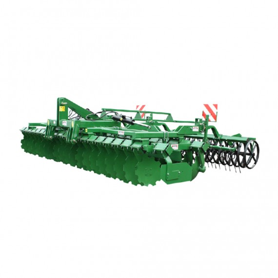 Disc stubble cultivator - 6M with hydraulic folding (V-Ring roller)