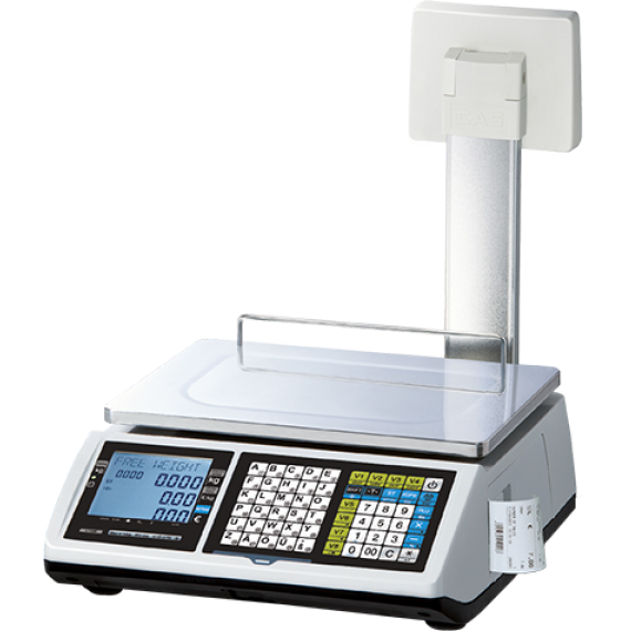 Commercial scales with receipt without battery (Legal Metrology)