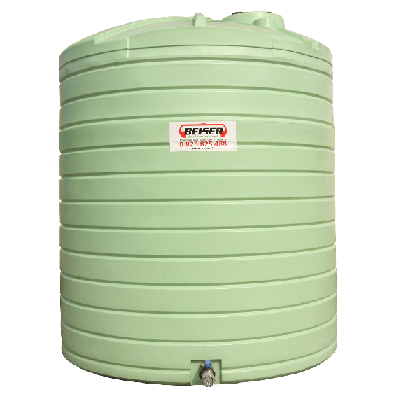 HDPE double wall vertical fuel station 2500 liters